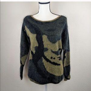 🎉SALE EUC Rag&Bone Sinclair camo sweater amazing!